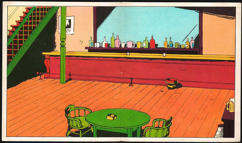 Action - Dessin saloon ...